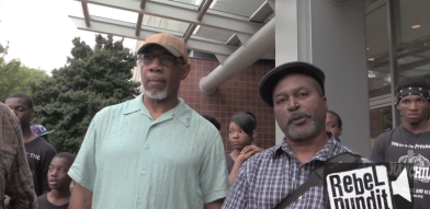 Chicago Blacks protest illegal immigration, gun violence and Barack Obama 07132014