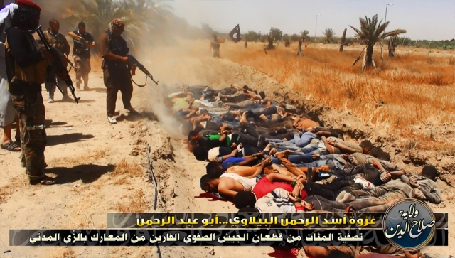 "Subhuman ISIS murders engaged in a ""crime"" credit: zerohedge.com"