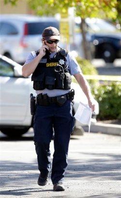 Officer Shot Sacramento