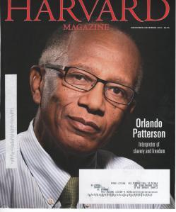 Orlando Patterson, Harvard sociologist