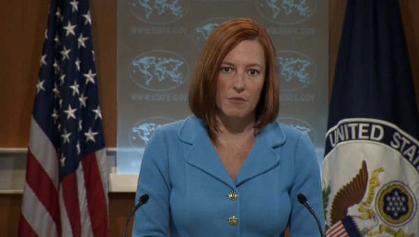 Jen Psaki stated that the US will not recognize the results of the the November 2 regional elections in the self-proclaimed Donetsk and Luhansk People's Republics.