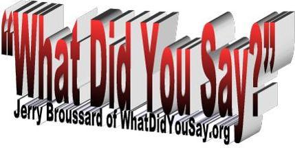 New WhatDidYouSay Logo