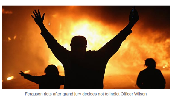 ' Ferguson riots after Grand Jury decides not to indict Darren Wilson - Screenshot from 2014-12-02 12:24:46 '